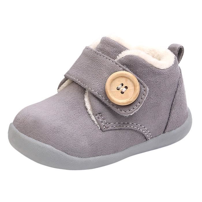 a0afa0330439c CHAUSSON - PANTOUFLE Chaussons Bébé Fille Garçon Chaussures Premier Pas