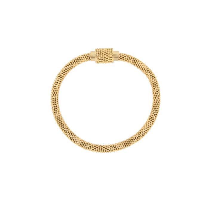 One Man Show - Bracelet en acier doré pour femme