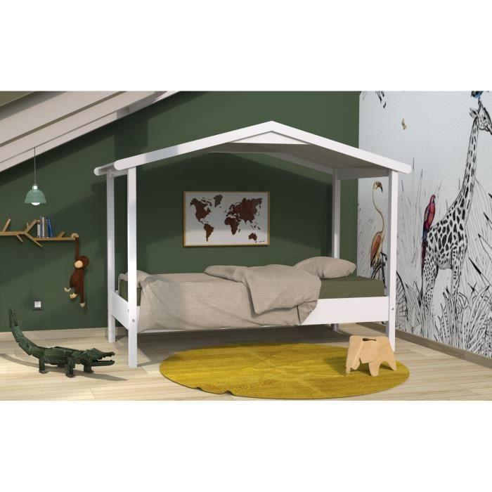 lit totem achat vente pas cher. Black Bedroom Furniture Sets. Home Design Ideas