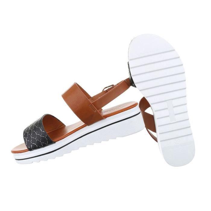 Femme sandales chaussures chaussures de plage chaussures d'été léger argent 41 XjKB7HZHaT
