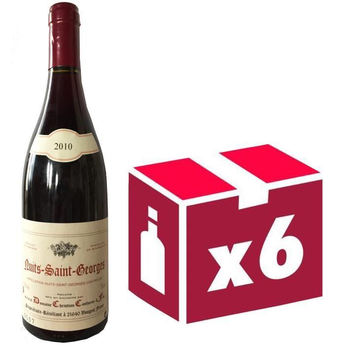Domaine Confuron Nuits Saint Georges Bourgogne 2010 - Vin rouge