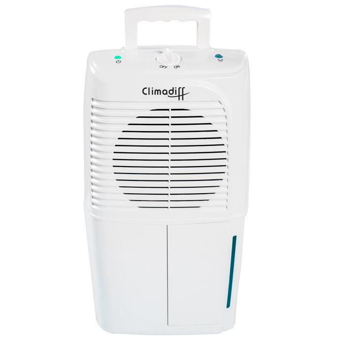 CLIMADIFF Déshumidificateur d'air Dhu10M 260 W