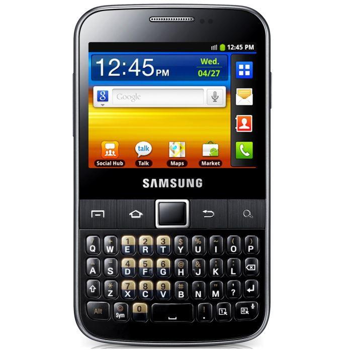 SMARTPHONE Samsung Galaxy Y Pro Gris
