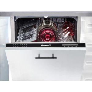 LAVE-VAISSELLE BRANDT VS1010J - Lave-vaisselle 45cm encastrable A