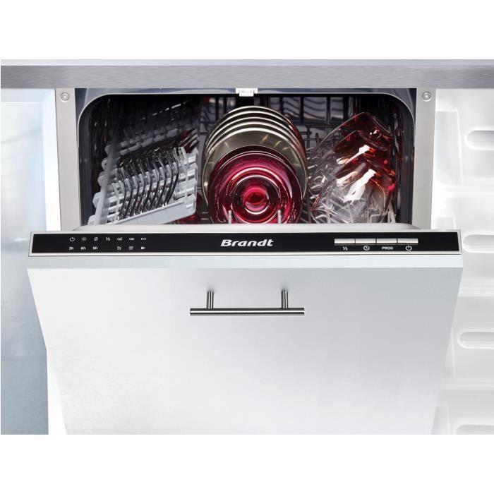 lave vaisselle encastrables brandt achat vente pas cher black friday le 24 11 cdiscount. Black Bedroom Furniture Sets. Home Design Ideas