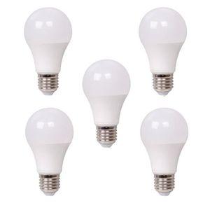 AMPOULE - LED XQ-LITE Lot de 5 ampoules LED A60 E27 10W équivale