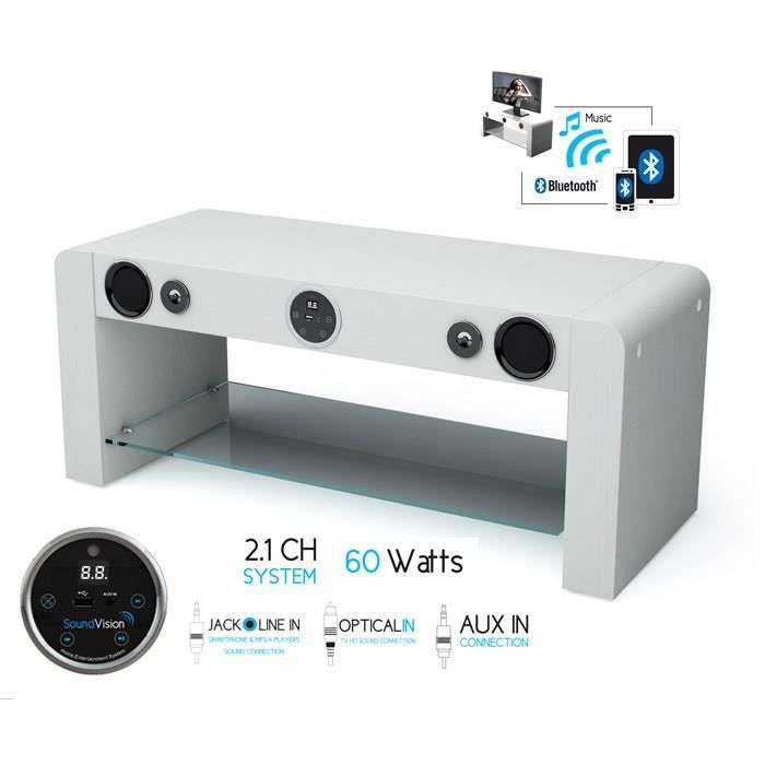SoundVision SoundStand10 Meuble TV HiFi Bluetooth Achat Vente
