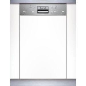 LAVE-VAISSELLE BRANDT VS1010X - Lave-vaisselle 45cm encastrable A