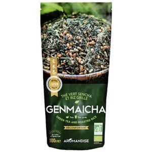 THÉ Florisens - Thé vert Bio et riz complet Genmaicha