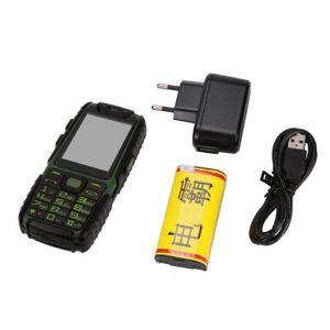 Téléphone portable téléphone débloqué mobile étanche Caméra téléphone