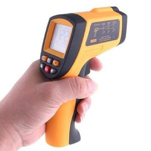 TÉLÉMÈTRE - LASER Thermomètre laser infrarouge IR Température Gun Py
