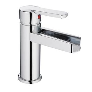ROBINETTERIE SDB SCHÜTTE Robinet mitigeur lavabo Niagara - Bec casc