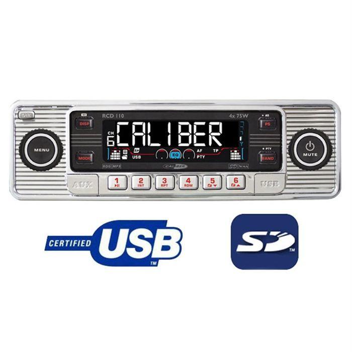 Autoradio Caliber RCD110 - Autoradio vintage