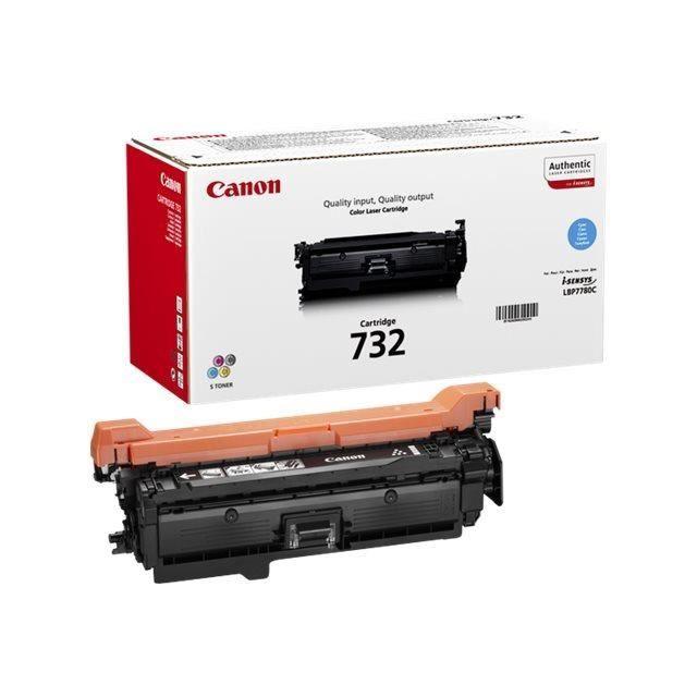 CANON Cartouche de toner -  732-C   - Cyan - Capacité standard 6400 pages