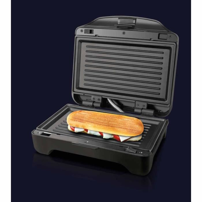 TAURUS Appareil à croque-monsieur - grill et gauffres Miami Premium - 900 W