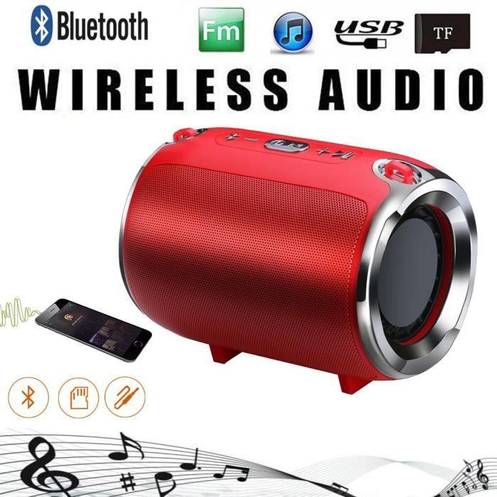Bluetooth Haut-parleur Portable Sans Fil Mini Lourd Caisson De Basses Lecteur Musique Sonore Yx249