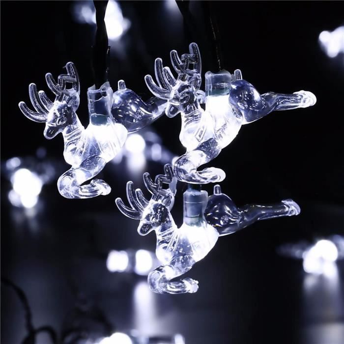 dcoration lumineuse bloomwin led guirlande solaire lumineuse extrieur with decoration de noel. Black Bedroom Furniture Sets. Home Design Ideas