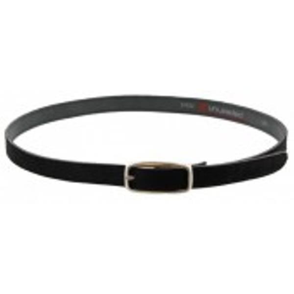Bracelet en cuir de vachette noir.-F-C2.3