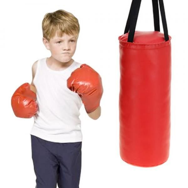 sac de frappe avec gants de boxe pour enfants prix pas cher cdiscount. Black Bedroom Furniture Sets. Home Design Ideas