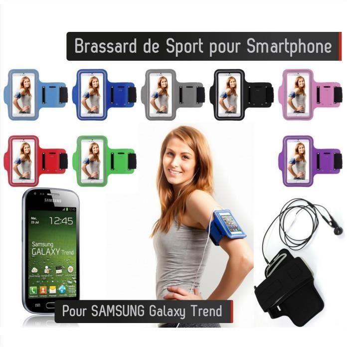 Samsung galaxy trend lite noir etui achat vente pas cher - Accessoires samsung galaxy trend lite ...