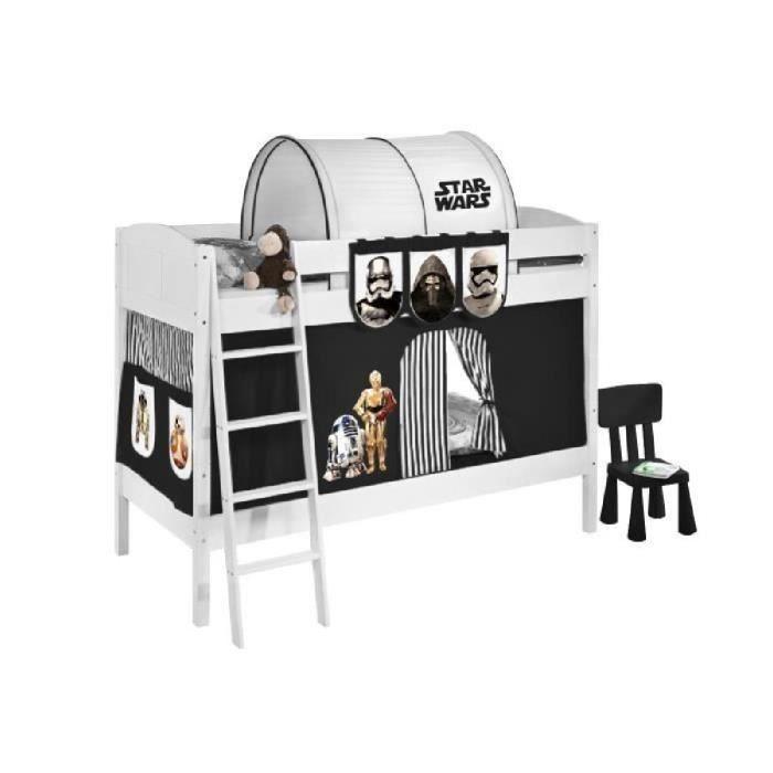Rideaux pour chambre denfant Star Wars 150 x 157 cm