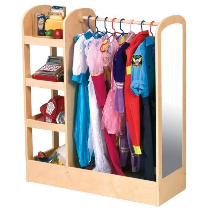 armoire enfant pour suspendre robe v tements et costumes dim 35 6 x 91 4 x 106 7 cm achat. Black Bedroom Furniture Sets. Home Design Ideas
