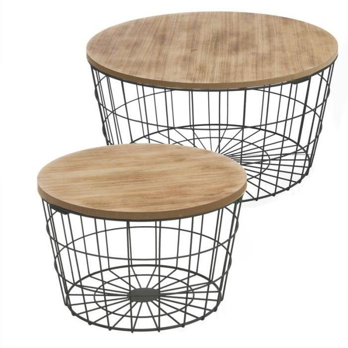 Table a manger bois et metal achat vente table a manger bois et metal pas cher cdiscount - Plaque metal decorative pas cher ...