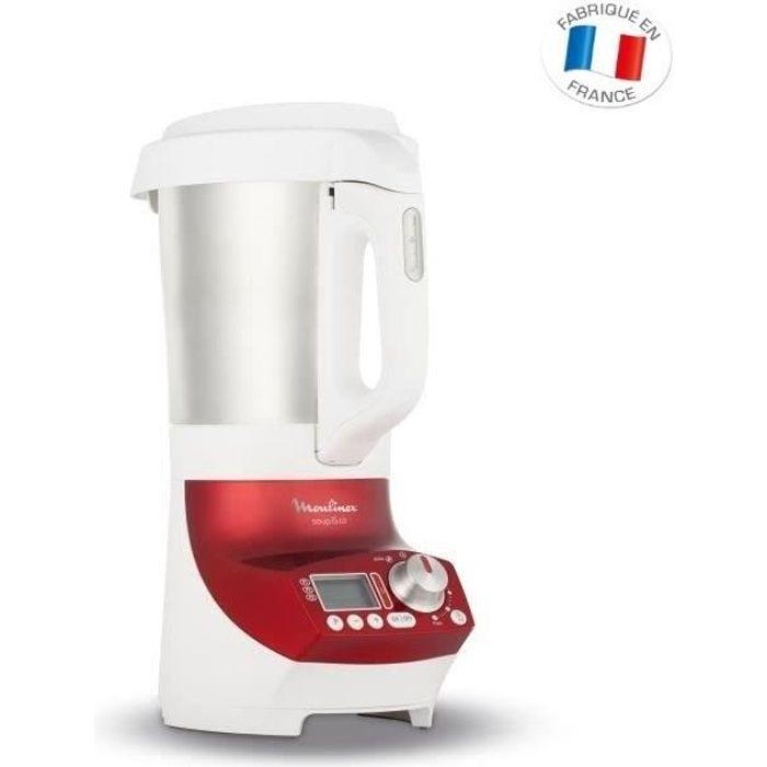 MOULINEX LM906110 Blender chauffant Soup&Co - Rouge et Blanc ...