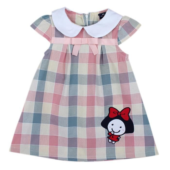 HIGHDAS Jupe Enfants Toddler Baby Girl manches ... A - Achat   Vente ... fa5f06fc7a03