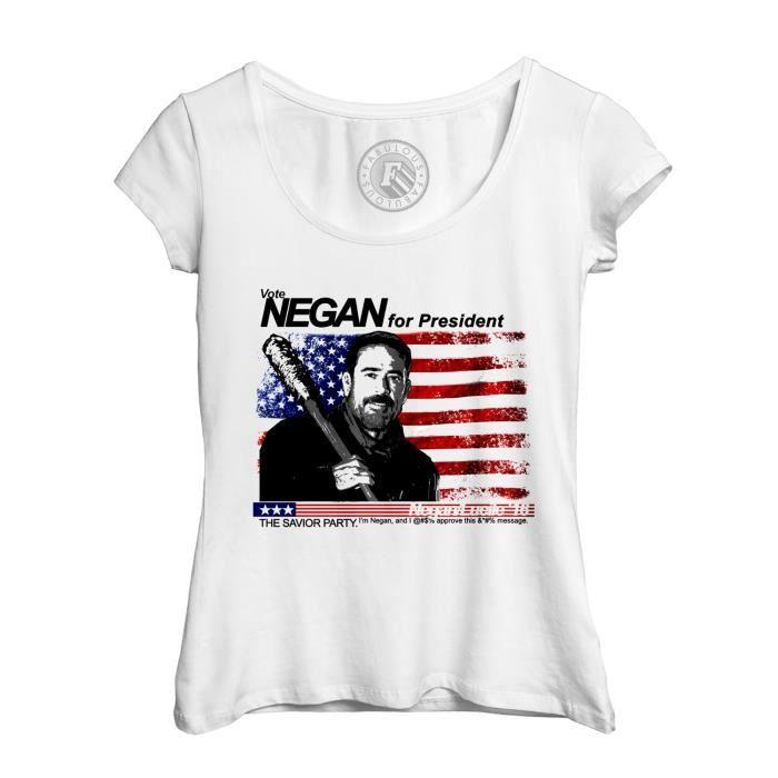 b2e68af674e tee shirt femme echancr T-shirt Femme Col Rond Echancré ...