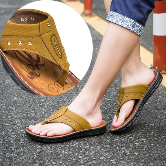Nouvelle arrivée Fashioon antidérapants Chaussures de sandales Cool hommes