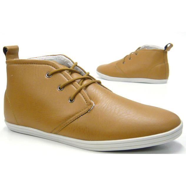 Sneaker doublé chaussures Sneaker High camel Hommes 41 débardeur épais SWPRqnW5F