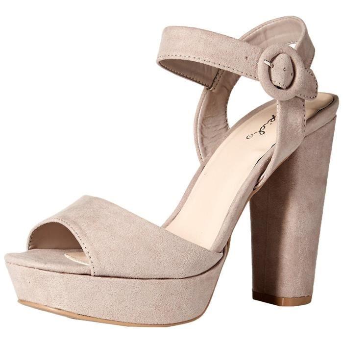 Femmes Qupid Sandales Compensées