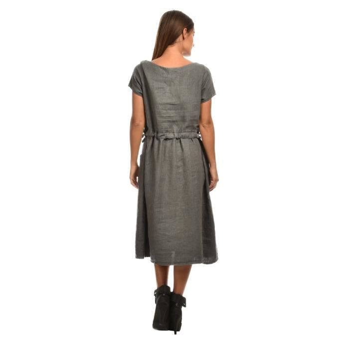 Robe NYDIA Gris