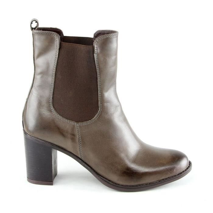 Donna - Boots en cuir - taupe