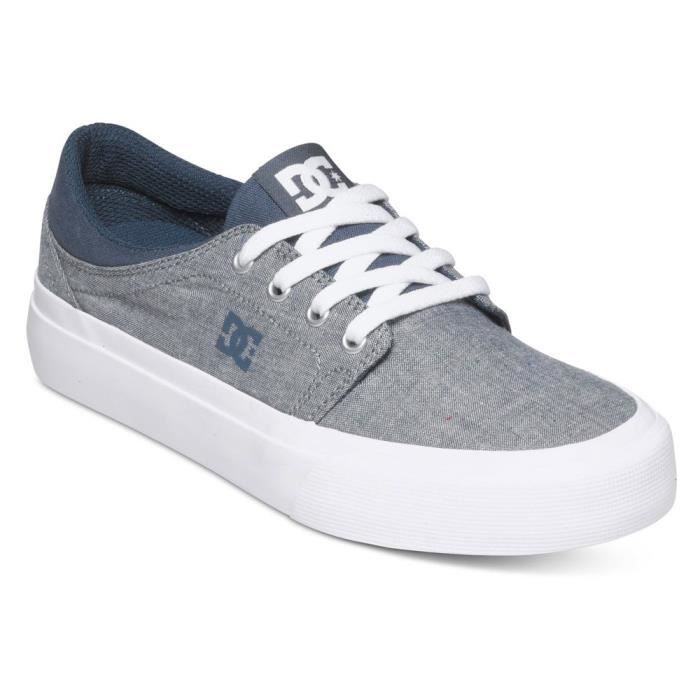 Chaussure 40 Tx Se GRIS Femme Trase Taille DC SHOES zF0OvqwIw
