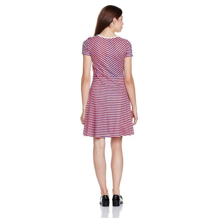 Womens Cotton A-line Dress WV43K Taille-36