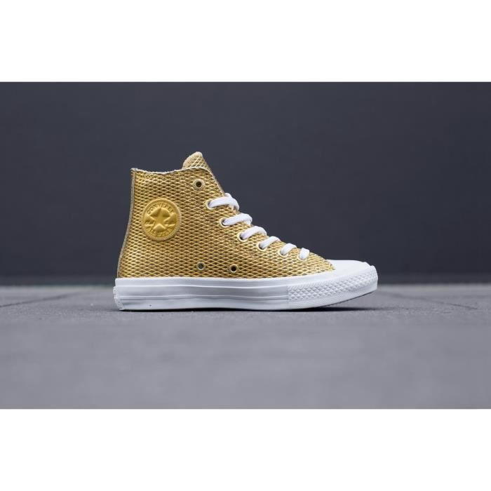 Converse Chuck Taylor All Star Hi Gold-white-white ZONVI Taille-40