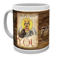 BOL - MUG - MAZAGRAN Tasse de ceramique Fable Needs You