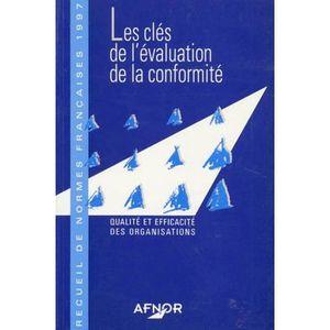 LIVRE GESTION RECUEIL DE NORMES FRANCAISES 1997. Les clés de l'é