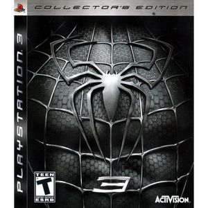 JEU PS3 Spider-Man 3 - Collector's Edition - [ Import USA