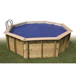 BÂCHE - COUVERTURE  UBBINK Bâche à bulles bordée pour piscine 300x430