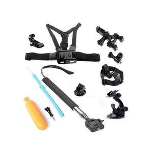PACK CAMERA SPORT 6pcs Accessoires Kit pour Caméras GoPro Hero4 Sess