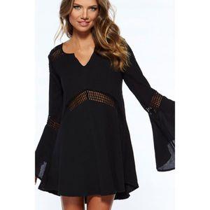 a99455eb7 Robe de plage noire - TAILLE UNIQUE Noir - Achat / Vente robe de ...