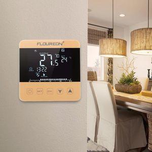 THERMOSTAT D'AMBIANCE Floureon Électrique Chauffage Thermostat Écran Tac