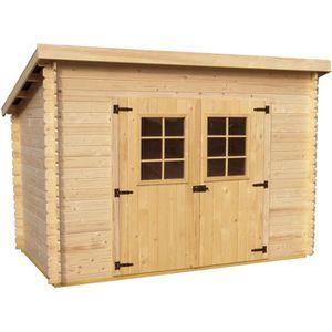 Prix abris de jardin en bois - Achat / Vente pas cher