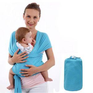 Bleu Transport Sling kangourou sac à dos pour les enfants de forage Slings  BABY pour les nouveau-nés transporteur de bébé e43b93d0abc