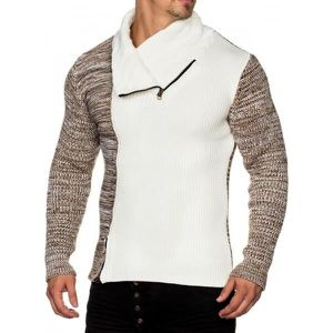 PULL Pull homme classe blanc