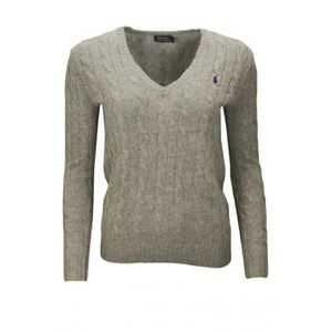 Pull col V Ralph Lauren Kimberly pour femme Gris Gris - Achat ... 04f8eaa954f