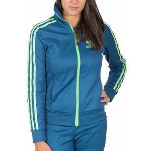 Veste bleu adidas femme